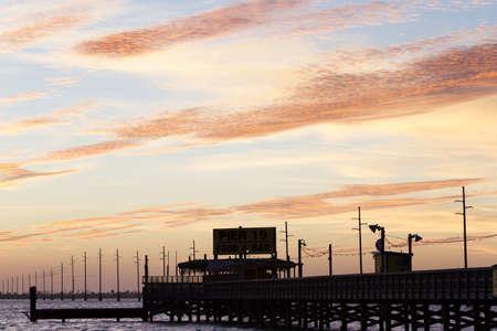 Sunset at South Padre Island, TX.