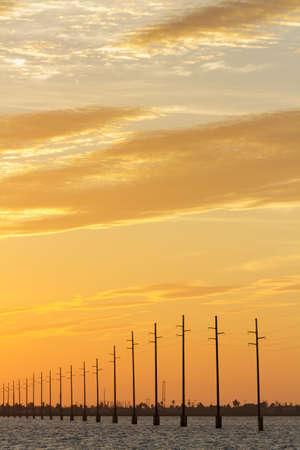 Sunset at South Padre Island, TX. Stock Photo - 17177689