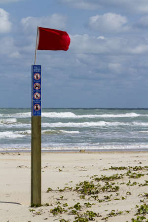 Beach of South Padre Island, TX. Stock Photo - 17179387