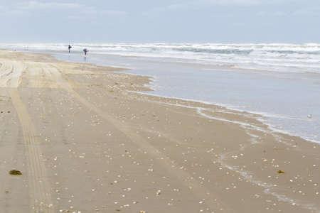 Beach of South Padre Island, TX. photo