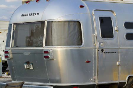 airstream: Motorhome campground on South Padre Island, TX.
