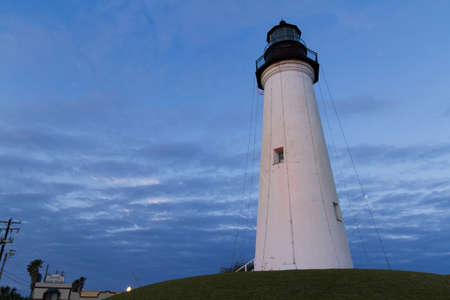 Port Isabel Lighthouse near South Parde Island, TX. Editorial