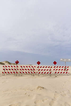 granula: End of the road on South Padre Island, TX.