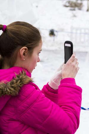 budweiser: 2013 Budweiser International Snow Sculpture Championships in Breckenridge, Colorado. Editorial