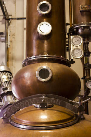 fermenters: Breckenridge distillery  utilized traditional open-top Scottish style fermenters and distill in a 700 Gallon Vendome custom copper combination pot still. Editorial
