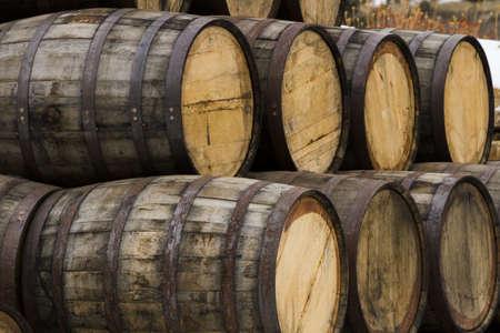 Breckenridge distillery  utilized traditional open-top Scottish style fermenters and distill in a 700 Gallon Vendome custom copper combination pot still. Stock Photo