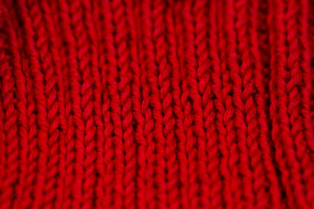 made: Hand made pattern with knitting.