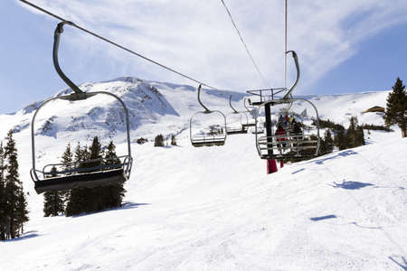 2012-2013 skiing season at Loveland ski resort, Colorado.