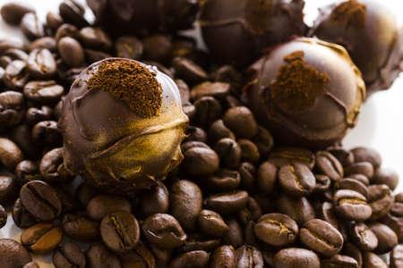 expresso: Gourmet expresso truffles hand made by chocolatier.