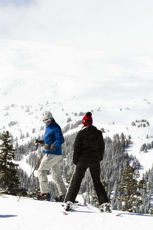 eisenhower: Loveland basin ski area in the Winter of 2013.