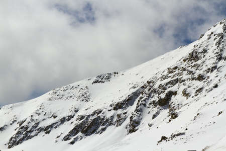 Loveland basin ski area in the Winter. photo