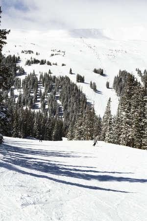 Loveland basin ski area in the Winter. photo