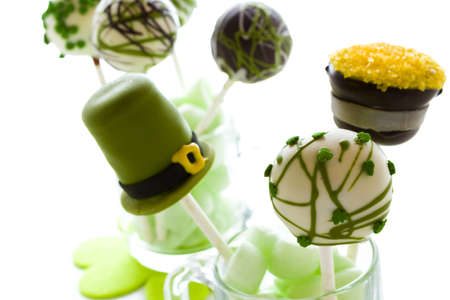 pastrie: Chocolate cake pops with chic buttercream.