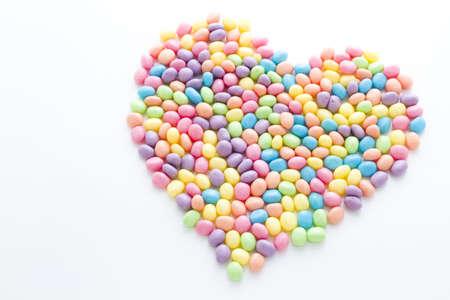 jelly beans: pastello a colori jelly beans per Pasqua.