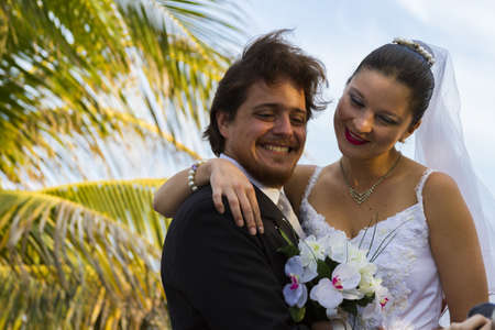 distanation: Typical distanation wedding in Cancun, Mexico. Editorial