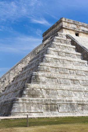 마 야 피라미드 Chichen Itza, 유카탄 반도, 멕시코.
