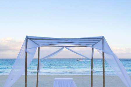 Beach wedding on the beach. photo