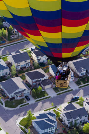 Typical american suburban development. Stock Photo - 19652460
