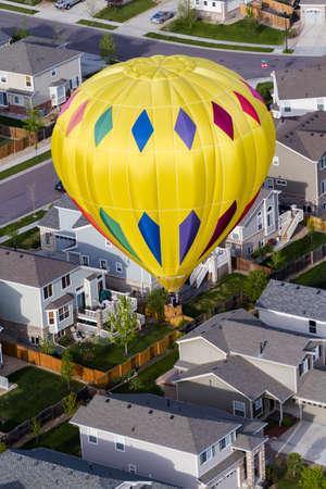 Typical american suburban development. Stock Photo - 19652463