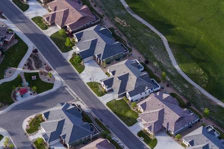 Typical american suburban development.