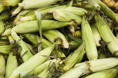 mealie: Fresh produce on sale at the local farmers market.