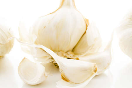 vegetus: Organic garlic from the local Farmers Market.