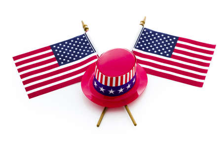 Patriotic items to celebrate July 4th. Stock Photo - 19928669