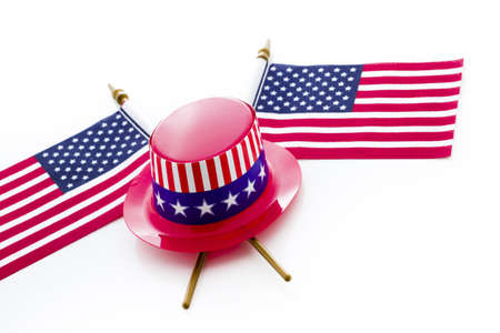 Patriotic items to celebrate July 4th. Stock Photo - 19928670