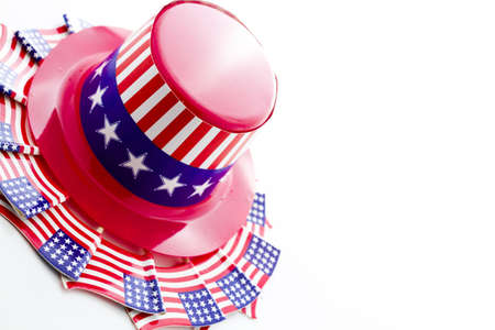 Patriotic items to celebrate July 4th. Stock Photo - 19928682
