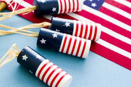 noise maker: Patriotic items to celebrate July 4th.