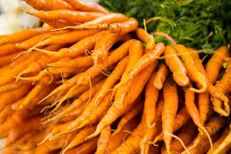 etymology: Fresh produce at the local farmers  market.