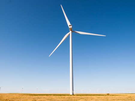 limon: Wind turbines farm in Limon, Colorado.