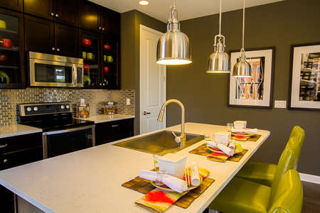 signle family: 2013 Parade of Homes showcasing new houses and new interiors. Editorial