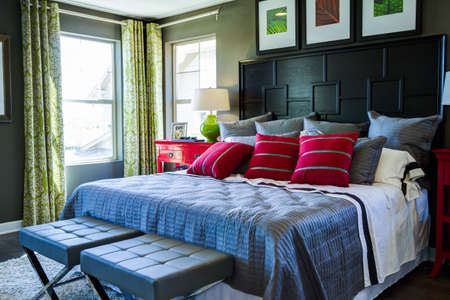 2013 Parade of Homes showcasing new houses and new interiors. Stock Photo - 21837857