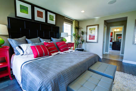 2013 Parade of Homes showcasing new houses and new interiors. Stock Photo - 21837873