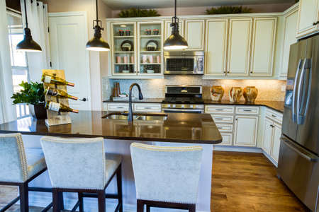 living unit: 2013 Parade of Homes showcasing new houses and new interiors. Editorial