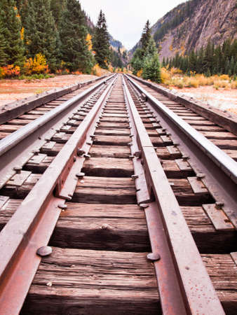 narrow gauge railways: Railroad tracks. This train is in daily operation on the narrow gauge railroad between Durango and Silverton Colorado