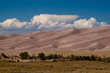 granula: Before sunset at Great Sand Dunes National Park, Colorado.