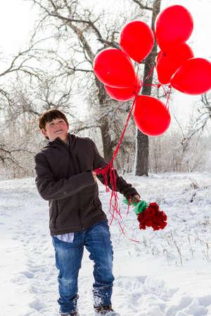 彼のガール フレンドのためのバレンタインの日ギフトとティーンエイ ジャーの男の子。