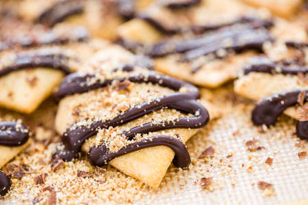 Gourmet gluten free cannoli chips perfect with dip.