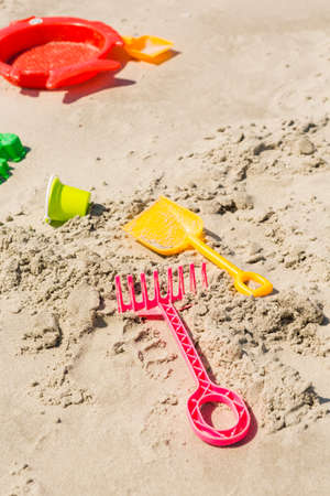 granula: Typical summer day in Myrtle Beach. Stock Photo