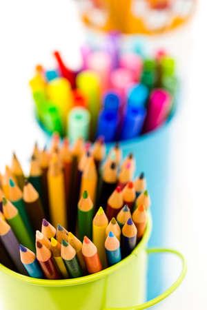 Nieuwe school leveringen voorbereid op nieuwe schooljaar.