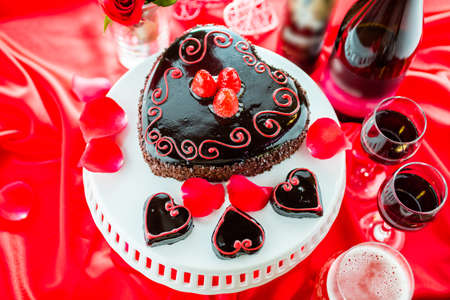 flourless chocolate cake: Chocolate beer and wine pairings. Raspbeverly Flourless Cake with Zinfandel wine and Funkwers Raspberry beer for Valentines day.