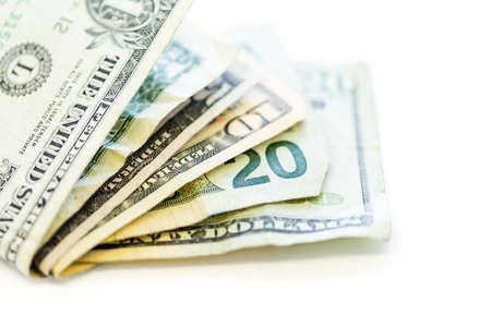 Bolded US Dollars on a white background.