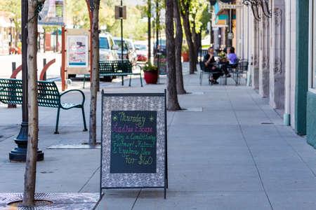 littleton: Main street of historic downtown Littleton, Colorado.