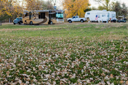 rv: Camping in late October in Colorado.