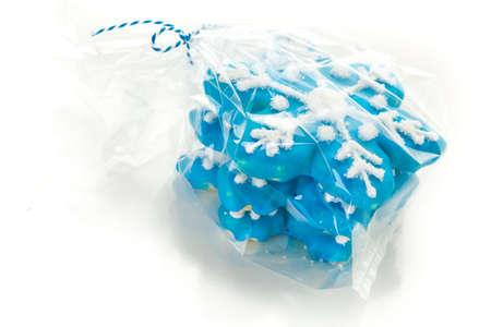 jewish home: Hand made sugar cookies as a Christmas gift.