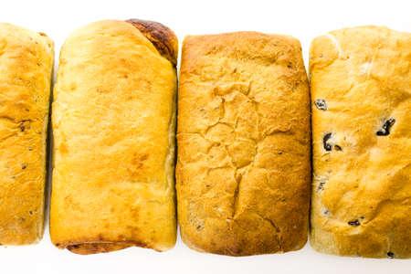 Fresh artisan sourdough breads on the table. Imagens - 35684361