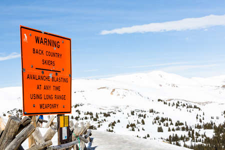 eisenhower: Loveland Pass, Colorado, USA-March 15, 2015. Typical weekend at Loveland pass on late Winter day.