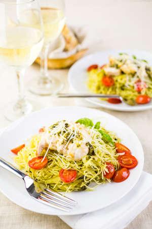 Cherry tomato white wine pasta recipe